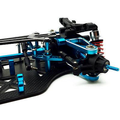 Rc Carbon Car Frame Kit For TAMIYA TT01 TT01E Shaft Drive