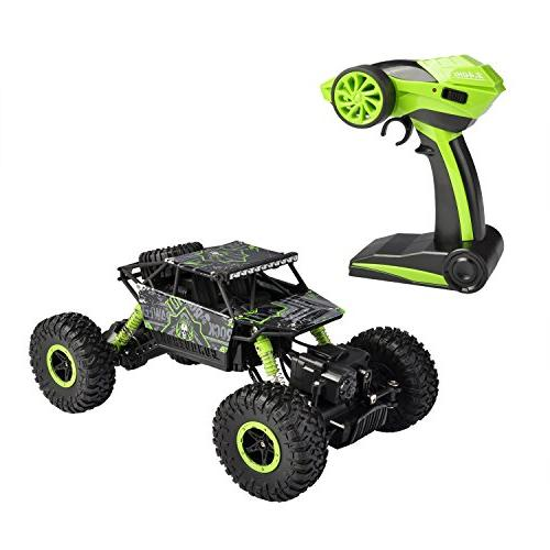 hapinic RC Two 1/18 Crawlers Off Road Vehicle Remote Car