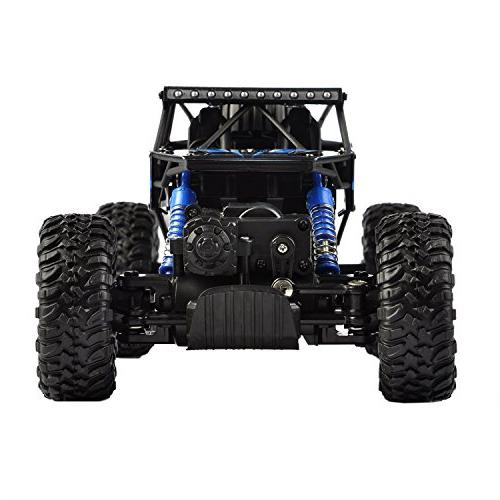 Hapinic RC Car Two 4WD 1/18 Crawlers Off Road Car Blue