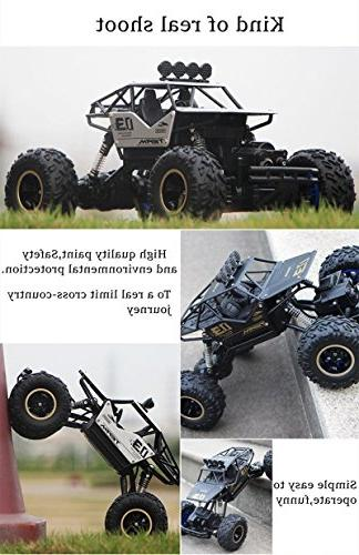 LightInTheBox RC Car Scale Rock Off -Road / Rock Climbing CH/2.4G Brushless Electric / Boys' Suprise Gift