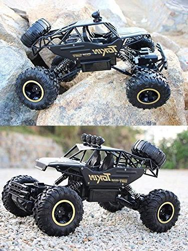 LightInTheBox 1:12 Scale Rock Crawlers Off -Road / Rock Climbing Car CH/2.4G Brushless Electric / Waterproof / Shockproof Boys' Suprise Gift