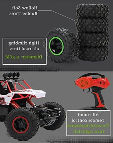 LightInTheBox Scale 4WD Off Climbing Brushless Electric with Flashlight / Shockproof Boys' Suprise