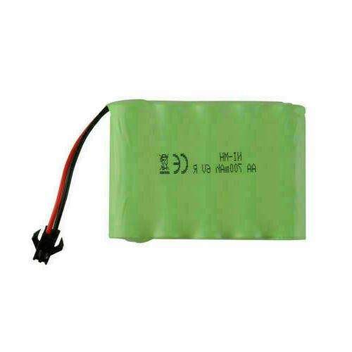 for 6V 700mAh battery rechargeable SM 2P high capacity