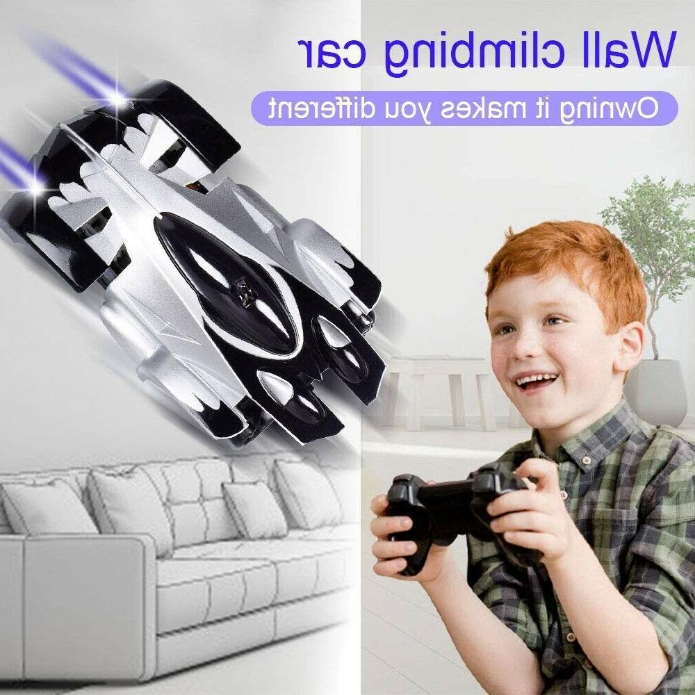 RC Wall Car for Kids Mode Rechargeable