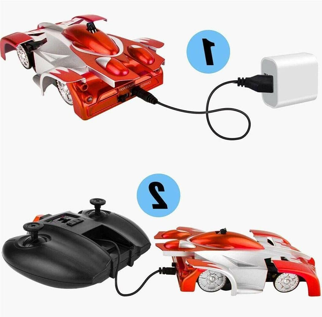 RC Wall Climbing for Kids Mode 360° Stunt Rechargeable