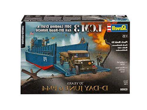 revell 03000 limited edition d day june 1944 lcm3 landing cr