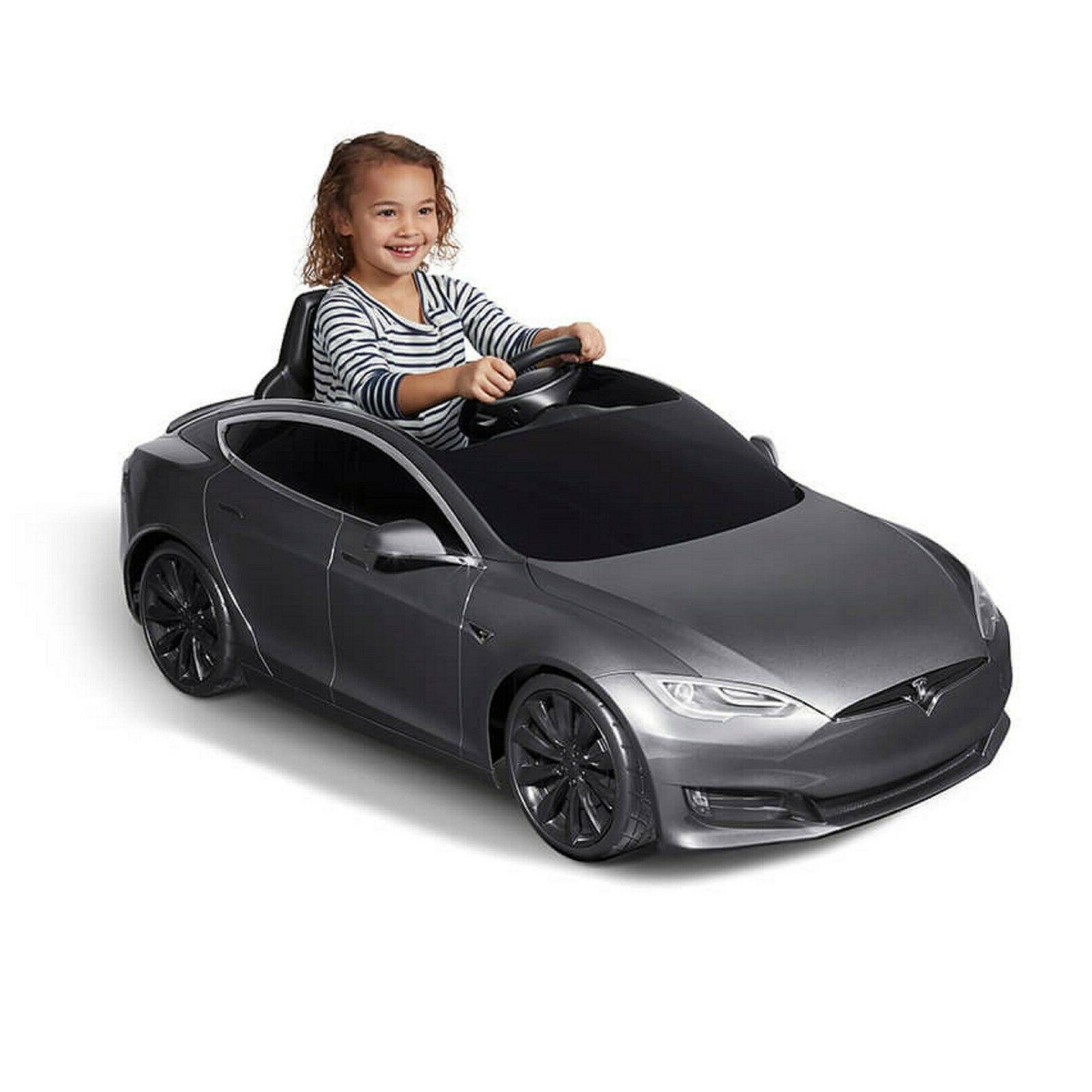 Riding cars mini model S, Include Battery, Red, Blu