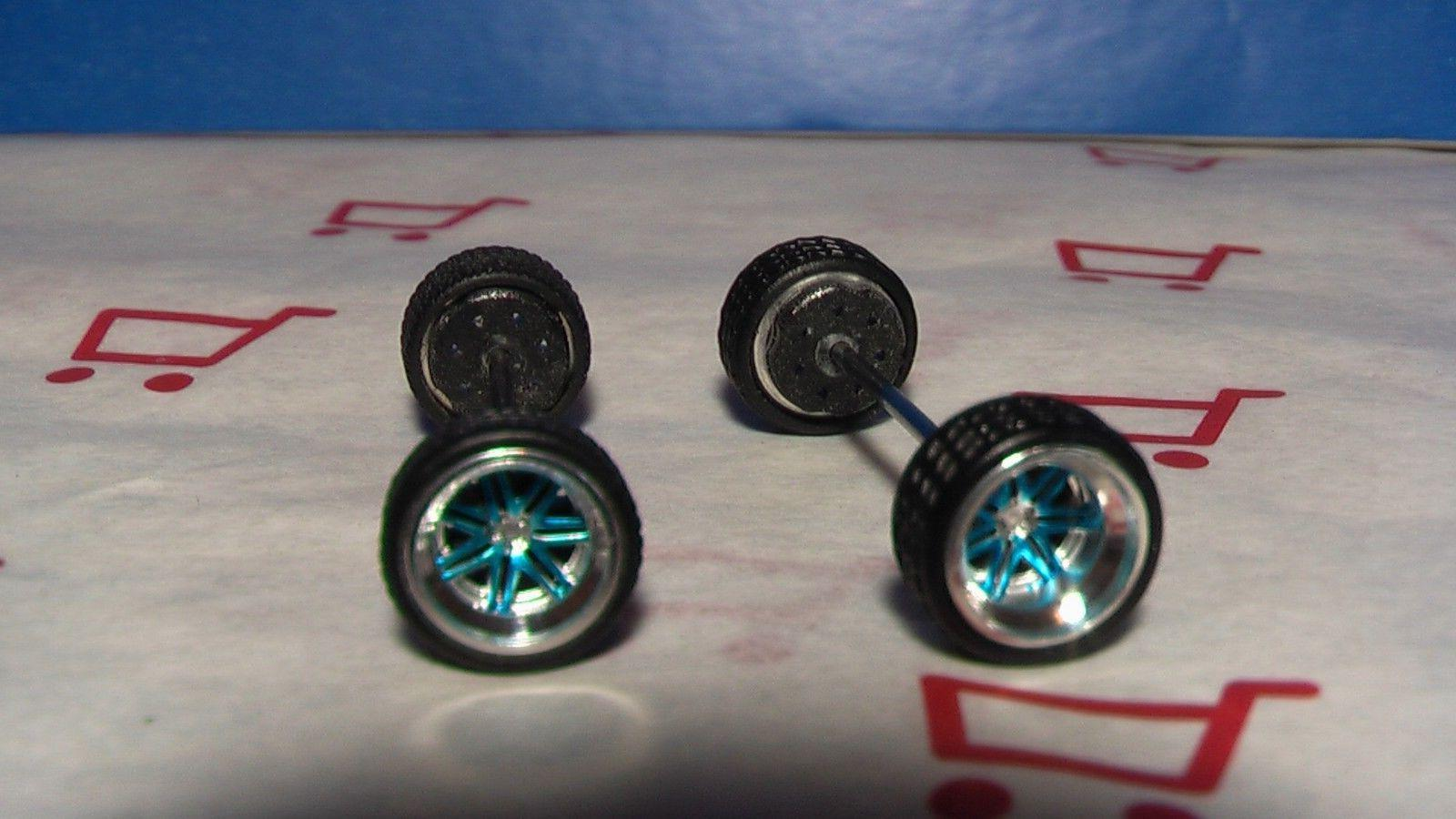 rubber tires real riders 14 spoke blue
