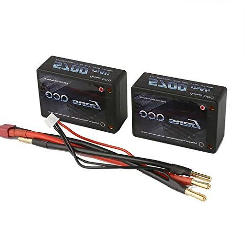 Gens Battery Pack 50C 2S3P Deans for RC Heli