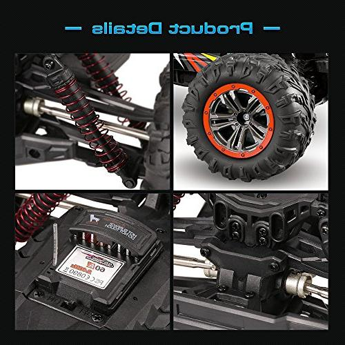 Scale 4WD 2.4Ghz Control Truck 9125,Radio Controlled Off-road Truck Grade Cross-country Car