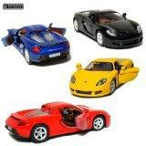 "Set of 4: 5"" Porsche Carrera GT 1:36 Scale  by Kinsmart"