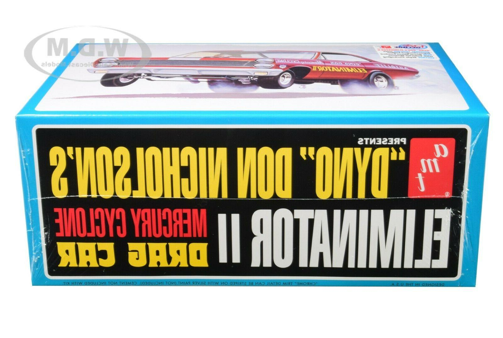 SKILL MODEL MERCURY CYCLONE DRAG CAR II AMT