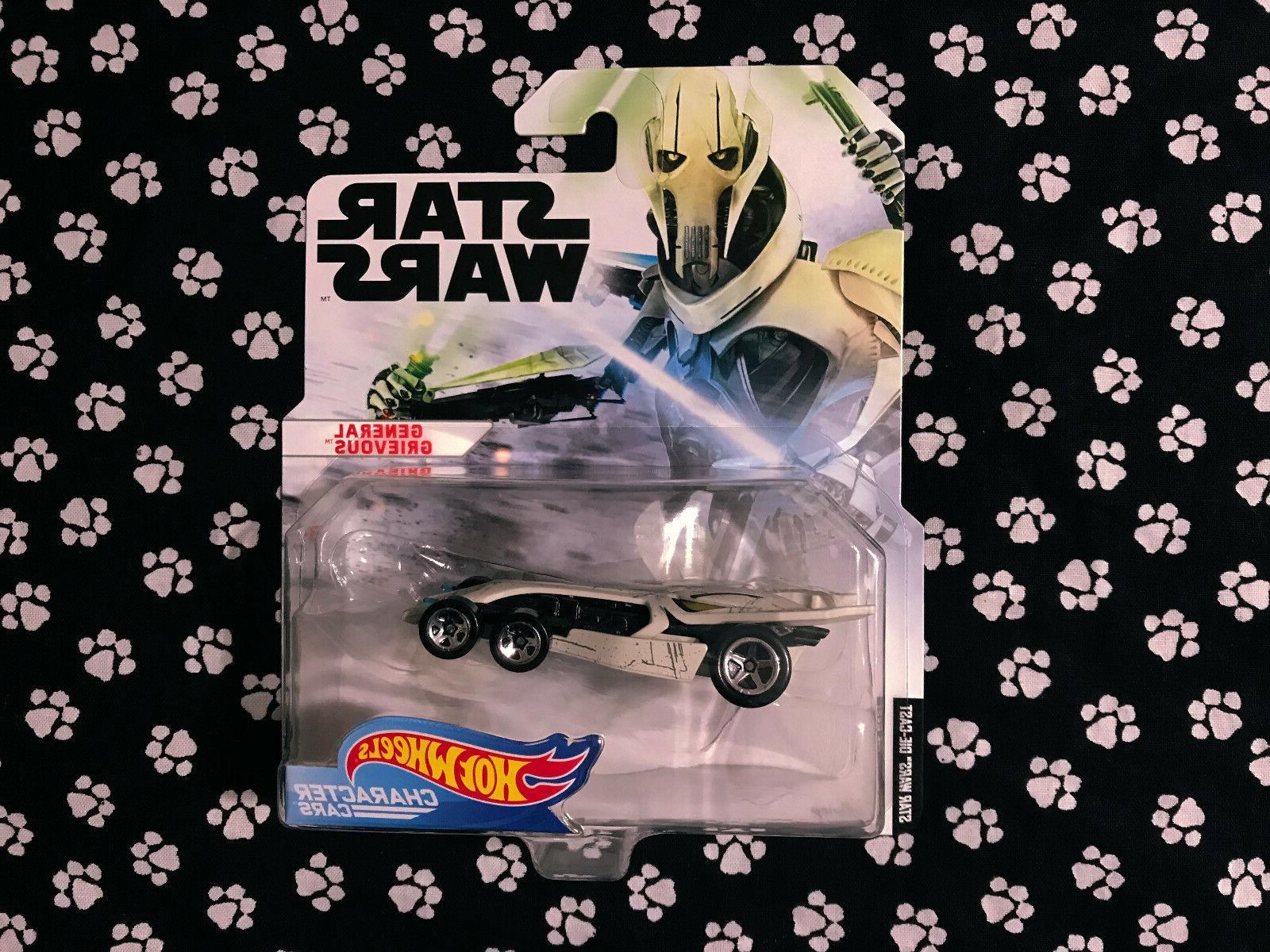 star wars character cars general grievous new