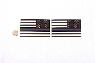 Thin Blue Line Flag Magnets 3x5 Car Fridge