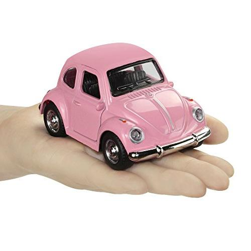 iPlay, iLearn Toy Car Vehicles, Classic Die Model Retro, Models, Pull Lights and