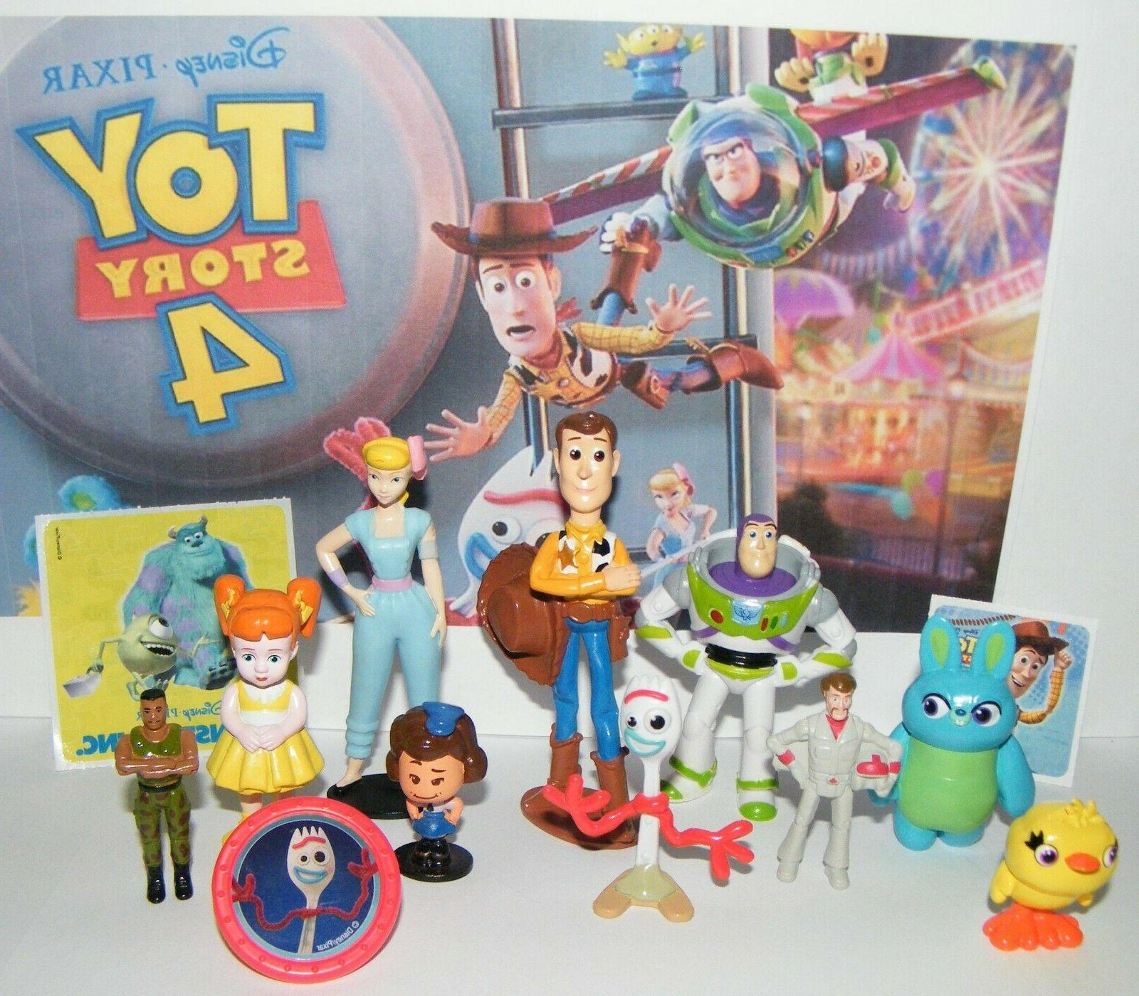 toy story 4 movie figure set of