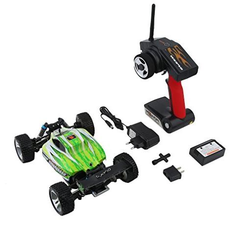 Blackpoolfa Upgrade WLtoys A959B High Off Road RC | Almost 4WD Racing 2.4G Control &