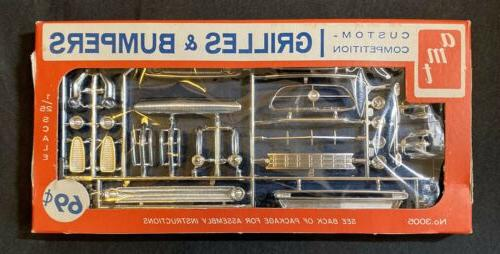 vintage grills and bumpers custom parts pack