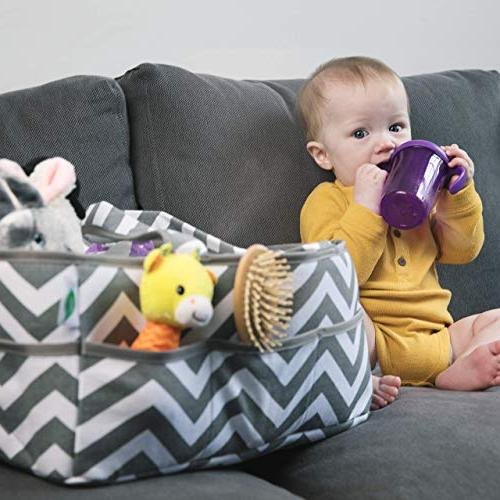 Large Baby Caddy 100% Cotton - Global
