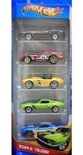 wheels shelby 5 car assortment