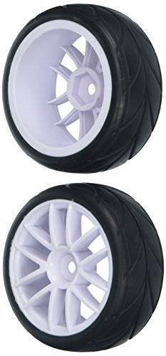 Redcat Racing White Road Wheels & Tires