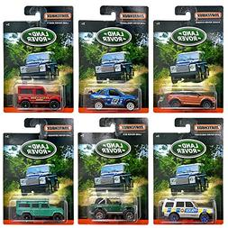 Matchbox - Land Rover - Exclusive Limited Edition Set of 6 D
