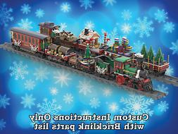 LEGO Winter Village Train SIX BONUS CARS - INSTRUCTIONS ONLY