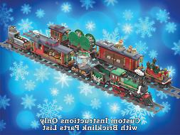LEGO Winter Village Train Six MORE Bonus Cars - INSTRUCTIONS