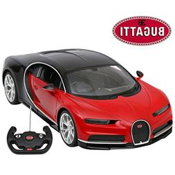 Licensed RC Car 1:14 Scale Bugatti Chiron | Rastar Radio Rem