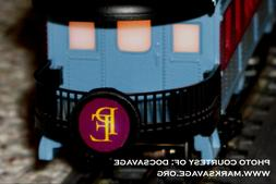 Lighted LED Drumhead for the Lionel O/027 POLAR EXPRESS Obse