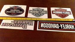 LOT of 10 Harley Davidson stickers for car truck Bike Helmet