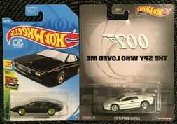 Lot of 2 Hot Wheels Lotus Esprit S1 007 The Spy Who Loved Me