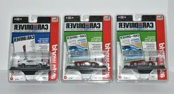 Lot Of 3 Auto World 1:64 Scale Diecast Cars 2 '65 Ford GT40