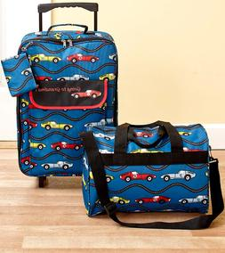 Luggage Set For Boys Cars Print Going To Grandmas Tote Bag R