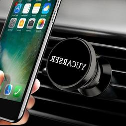 Magnetic Car Phone Mount with USB Sorting Function, 360 Rota