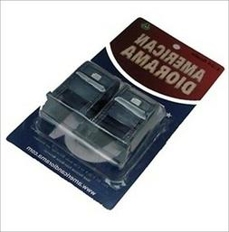MAIL BOX DIORAMA 2PC SET FOR 1:24 DIECAST MODEL CARS BY AMER