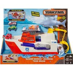 Matchbox Car-Go Commander Shark Ship, Floats in Water and Ro