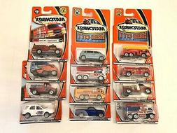 MATTEL MATCHBOX 1/64 SCALE DIECAST CAR LOT OF 12 NEW IN PACK