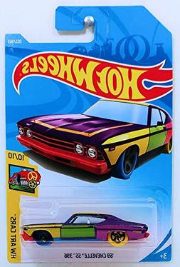 Hot Wheels Mattel 2018 Hw Art Cars - '69 Chevelle SS 396