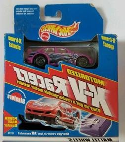 MATTEL HOT WHEELS SIZZLERS MOTORIZED X-V RACERS SCIENCE FRIC