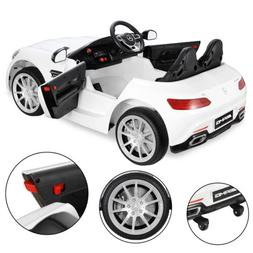 Mercedes Benz 2 Seat Ride On Toy Car for Kids W/3 Speeds,LED