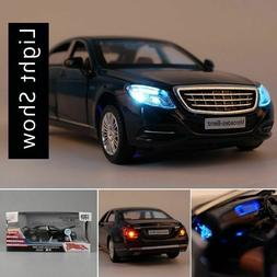 Mercedes Maybach S600 Diecast Metal Car Models Vehicle Toy G
