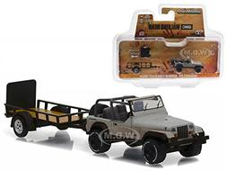 Greenlight Michonne's Jeep Wrangler YJ and Utility Trailer T