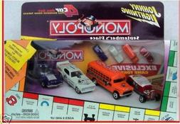 Johnny Lightning Monopoly 4 Car Set : 1977 Camaro, Bus Plymo