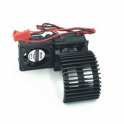 IFLYRC Motor Heatsink Twin Cooling Fan for Traxxas 1/10 Slas