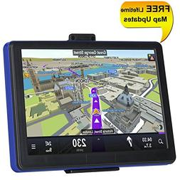 TSWA Navigation System for Cars, 7 inch 8GB Lifetime Map Upd