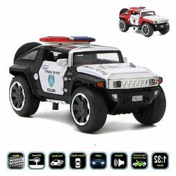 New 1:32 Hummer HX Concept Police Diecast Model Car Pull Bac