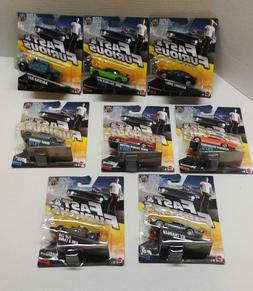 NEW! Mattel 1:55 Die Cast Cars  Fast and Furious Car Lot of