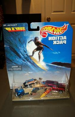 NEW 100% Hot Wheels Action Pack Surf's Up Die Cast Car 21533