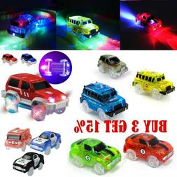 New Cars for Magic Tracks Glow in the Dark Amazing Racetrack